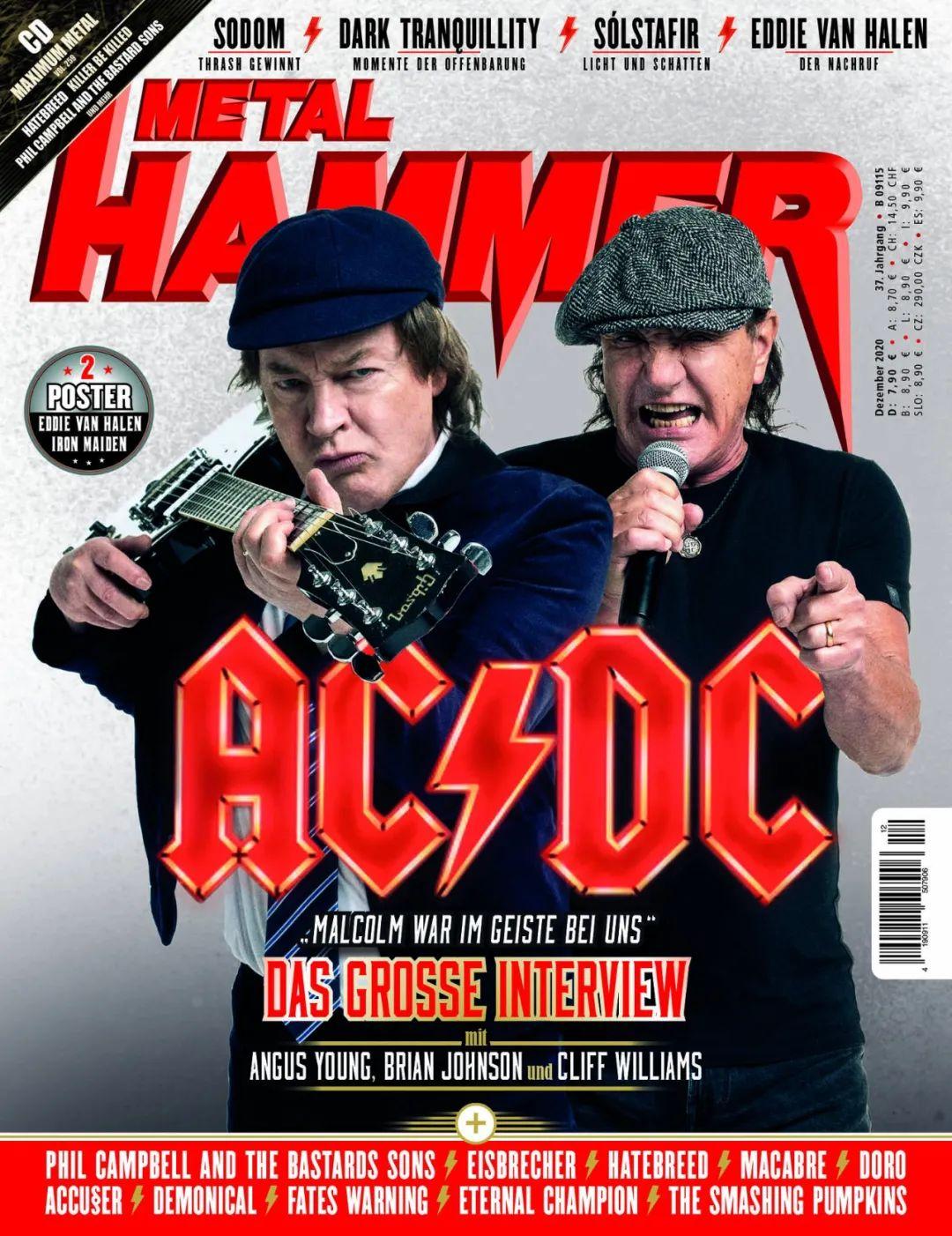 """AC/DC再发新专,老爷子们用生命诠释""""摇滚不死"""""""